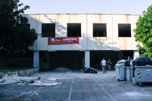 L'esterno della scuola