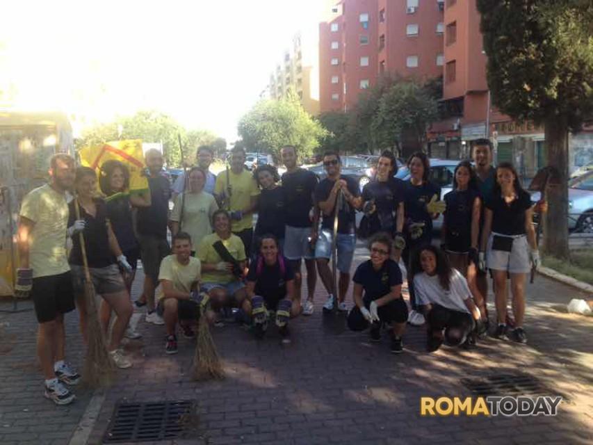 Degrado urbano a Roma