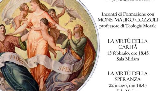 Formazione con Mons. Mauro Cozzoli - 15 Febbraio e 22 Marzo 2018